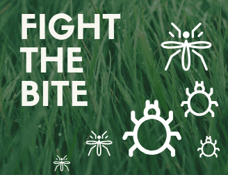 fight the bite by protecting yourself from ticks and mosquitoes