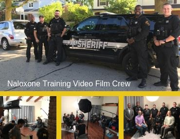 Naloxone Training Video Film Crew Image