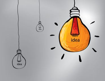 Lightbulb design concept