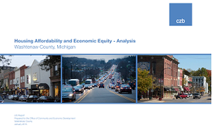 Housing Affordability and Economic Equity