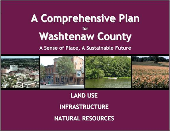 Comprehensive Plan for Washtenaw County cover page