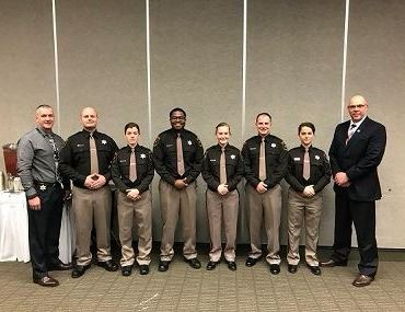 Corrections Academy Graduates Winter 2018