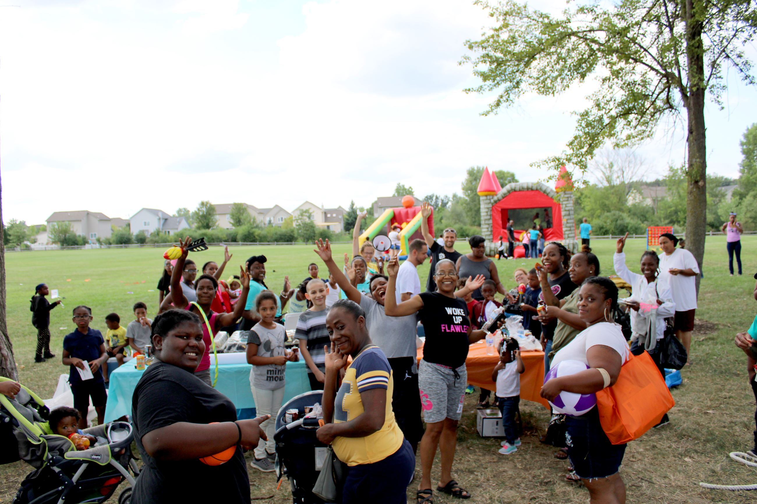 MacArthur Boulevard Community Fun Day, August 2018