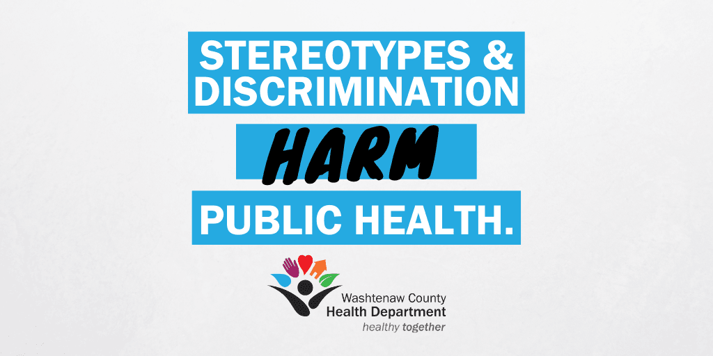 discrimination and stereotypes harm public health